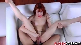 Redhead Alexa Nova Gets Big Cock Punishment