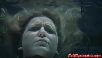 Bonded sub submerged and toyed underwater