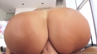 ava addams poops with butter and banana before anal