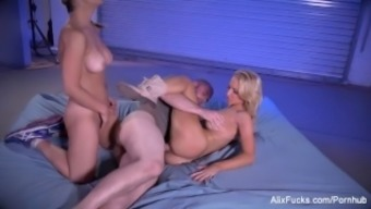 Alix and Sarah fuck a Satanic monster from the hills