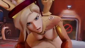 Overwatch hot animated slut hardcore fuck