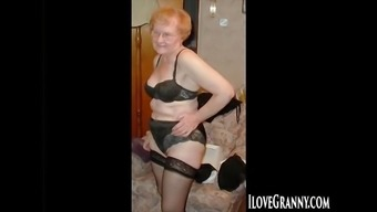 Ilovegranny homemade senior pictures compilation