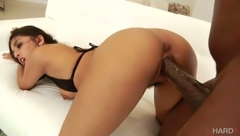 Stunning well packed babe Sophia Leone dreams about riding strong BBC