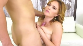 Kinky babe Krissy Lynn wants nothing more than his stiff cock