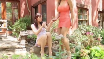 Aidra Fox and her friend moan while they finger each other