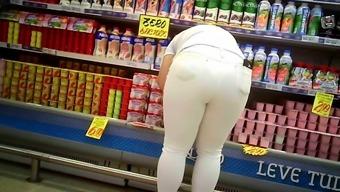 calcinha marcando rabudas big ass transparent jeans A16