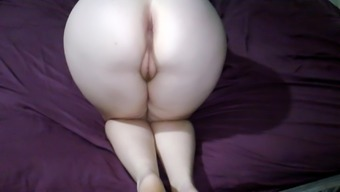 Bent over for hubby