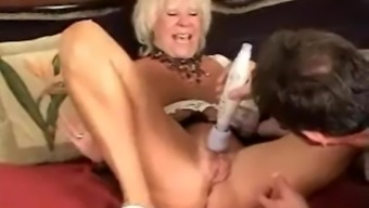 Granny Gets Toyed