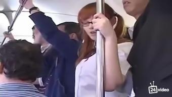 Teen marie mccray sucks cock in a bus