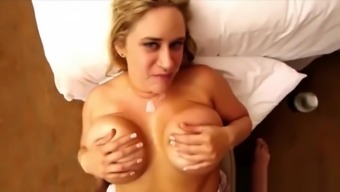 Very Sexy Step-Mama Julia Fucks Sweet Touching Stepson
