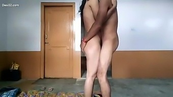 Indian young couple homemade sex