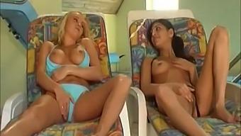 Naughty girls maya and nikki