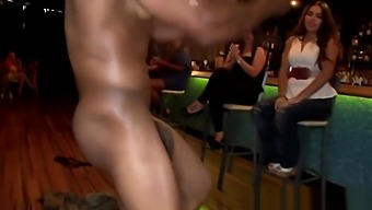 CFNM newbie giving head at real party with bbc