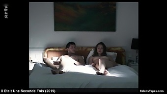 french celeb Freya Mavor frontal nude and romantic sex scene