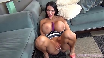 Hottest pornstar amy anderssen with new dress getting naughty