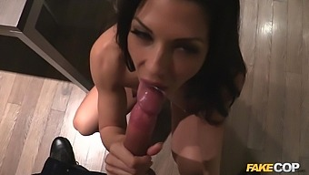 Nothing can please sexy Alexa Tomas as a strong penis in her cunt