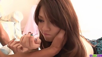 Insolent Japanese romance on two dicks b - More at 69avs.com