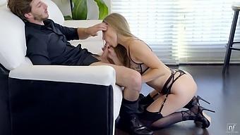 Hardcore pussy pounding is everything lustful babe Anya Olsen desires every day