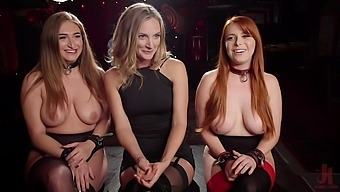 Group sex in amazing orgy with a bunch of amateur sluts
