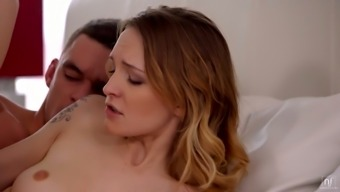 Belle Claire and Tina Key are in the mood for a crazy threesome sex