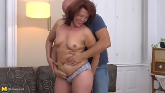 Happy family sex with mom and daddy