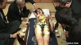 Eating food off Asuka Ayianami is the hottest thing ever and she is so horny