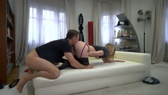 Sultry Russian gal Kiara Knight is fucked by Italian stud Rocco Siffredi