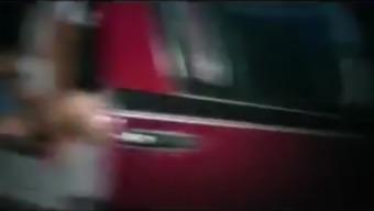 Hot UK Van Dogging Fuck