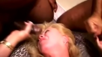 Just extremely wild mature whore Flamingo is nuts about working on BBCs