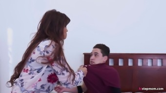 Bossy Stepmom makes her Son fuck her ass!