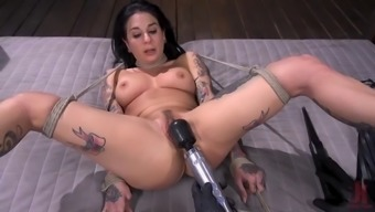 Legendary pornstar joanna angel submits to bdsm