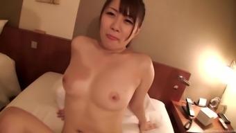 Ichinose Ameri picked up on the street to get fucked hardcore