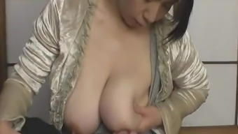 Japanese boy like Milf's big white breast - Pt2 On HDMilfCam.com