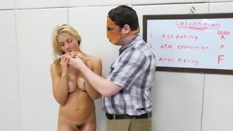 Slutty chick is taken in anus loony bin for awkward t19qEl