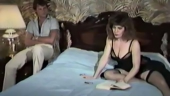 Vintage mommy seduces her own son