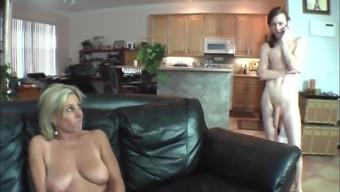 Real stepmom seduces her herd son