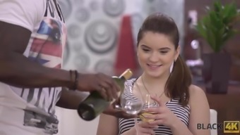 Evelina Darling comes to black guy and they get closer