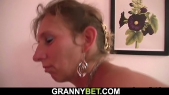 50 years old mature masseuse