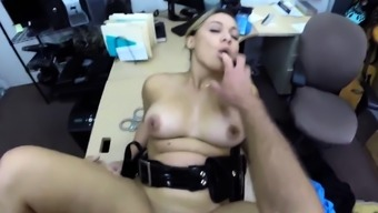 Crazy blowjob Fucking Ms Police Officer