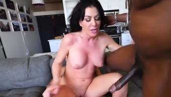 Gorgeous chick enjoys riding dicks
