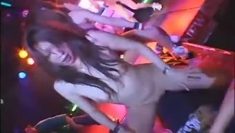 Six japanese nude dancers