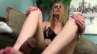 Sluts feet jizz soaked