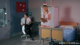Slut Nurse Fucks Dr. Monster Cock
