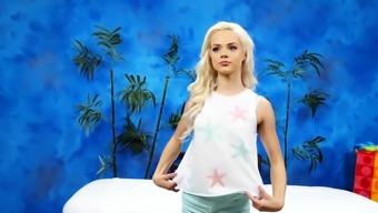 Lusty blonde Elsa Jean enjoys a worthy sex