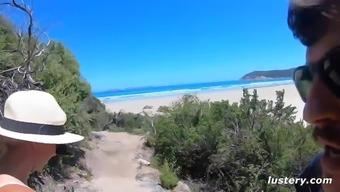 Adventurous Italian Couple Fuck By A Gorgeous Bay
