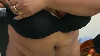 Huge boobs mallu Aunty shy 3