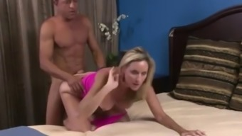 British wife holly michaels got her pussy drilled by husbands best friend