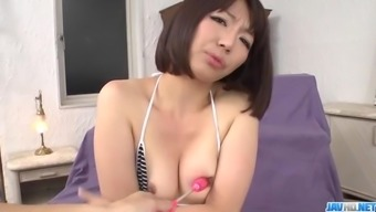 Izumi Manaka needy mommy loves cum on face  - More at javhd.net