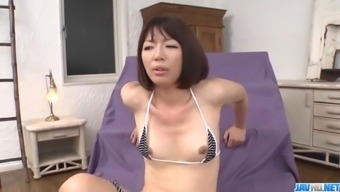 Izumi Manaka needy mommy loves cum on face  - More at javhd.net