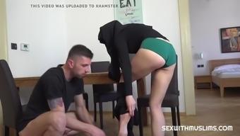 Mila fox is watching porn secretly
